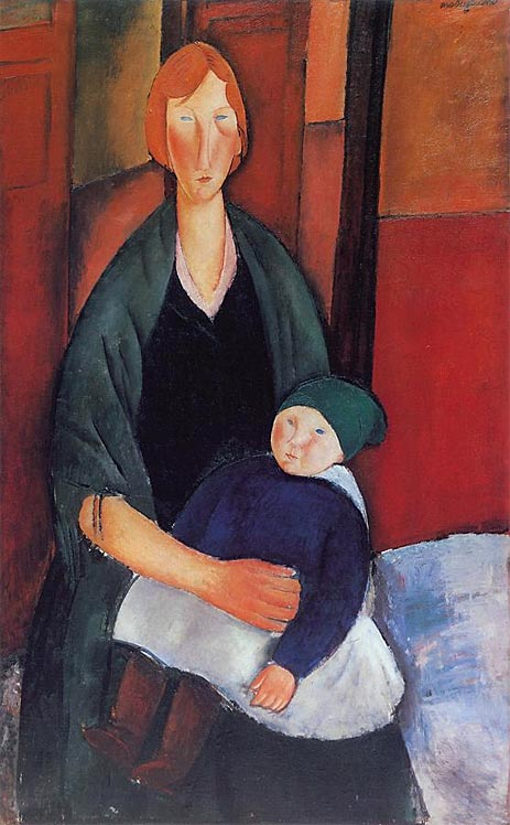 Seated Woman with Child, 1919