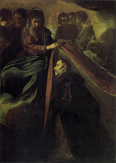 St. Idelfonso Receiving Chasuble from the Virgin, c.1620