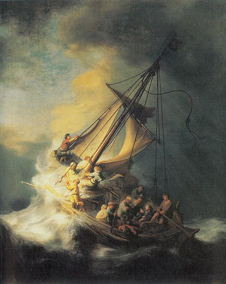 Storm on the Sea of Galilee, 1633