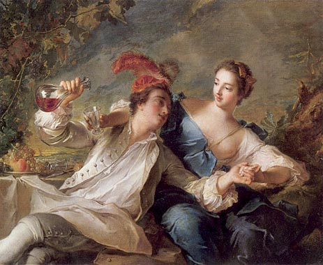 The Alliance of Love and Wine, 1744