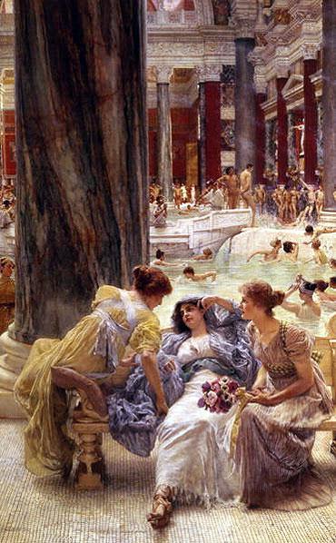 The Baths of Caracalla, 1899