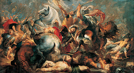 The Death of Decius Mus in Battle, 1618