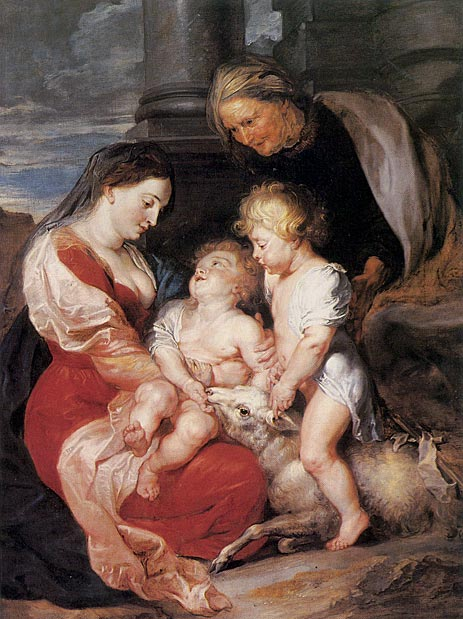 The Holy Family with the Lamb, c.1614/15