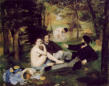 The Lunch on the Grass, 1863