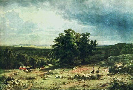 View in the Vicinity of Dusseldorf, 1865