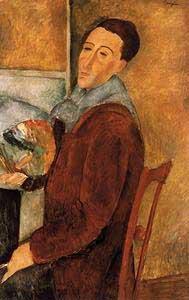 Amedeo Modigliani Autoritratto Oil Painting