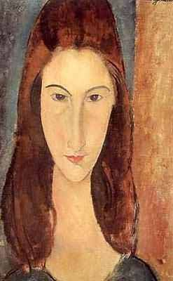 Amedeo Modigliani Jeanne Hebuterne seated Oil Painting