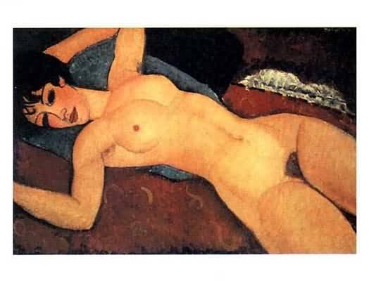 Amedeo Modigliani Nudo Disteso Oil Painting