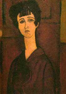 Amedeo Modigliani Victoria Oil Painting