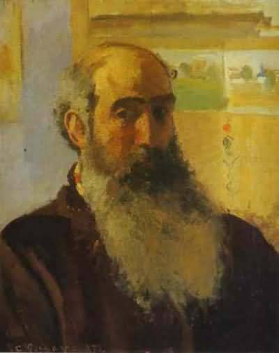 Camille Pissarro Self Portrait Oil Painting