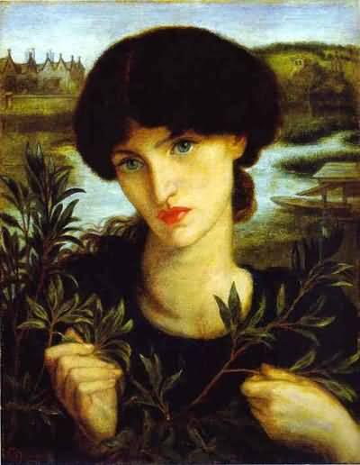 Dante Gabriel Rossetti Water Willow Oil Painting