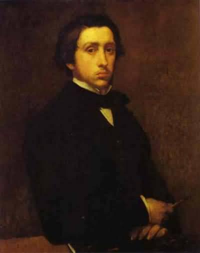 Edgar Degas Portrait of Estelle Musson Degas Oil Painting