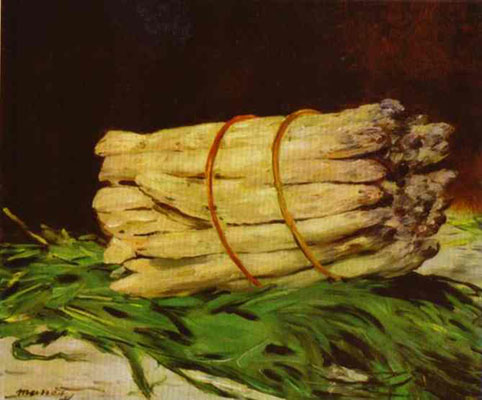 Edouard Manet Bundle of Asparagus Oil Painting