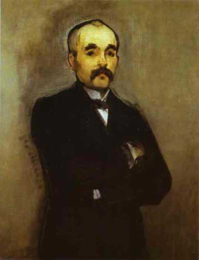 Edouard Manet Georges Clemenceau Oil Painting