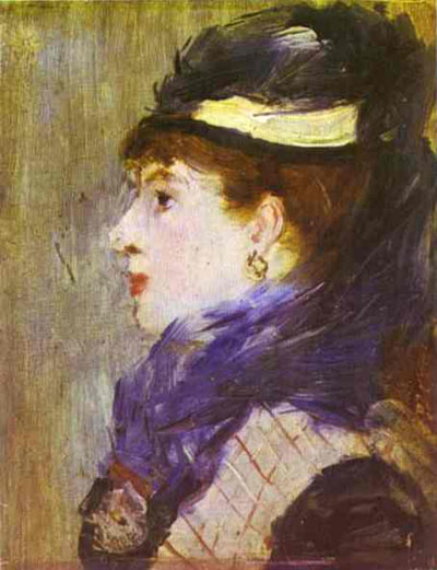 Edouard Manet Portrait of a Lady Oil Painting