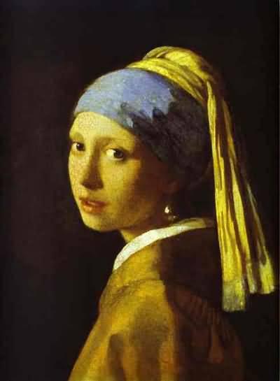 Jan Vermeer Girl With A Pearl Earring Oil Painting