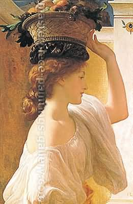 Lord Frederic Leighton Eucharis Oil Painting