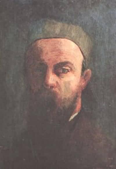 Odilon Redon Homage to Leonardo da Vinci Oil Painting