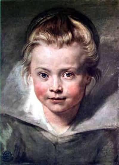 Peter Paul Rubens Child s Head Oil Painting