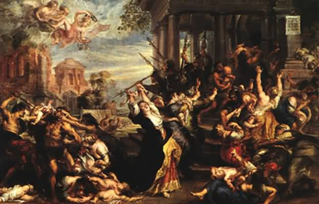 Peter Paul Rubens Massacre of the Innocents Oil Painting