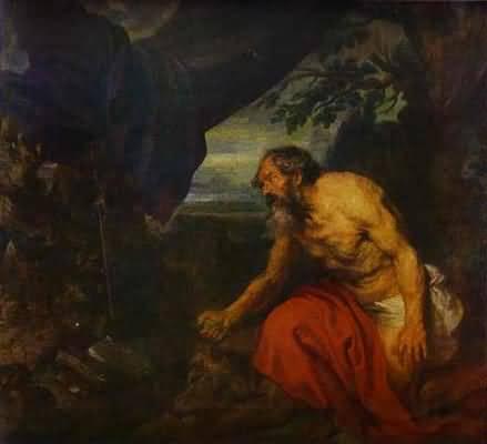 Peter Paul Rubens St Jerome Oil Painting
