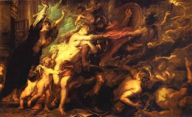 Peter Paul Rubens The Consequences of War Oil Painting