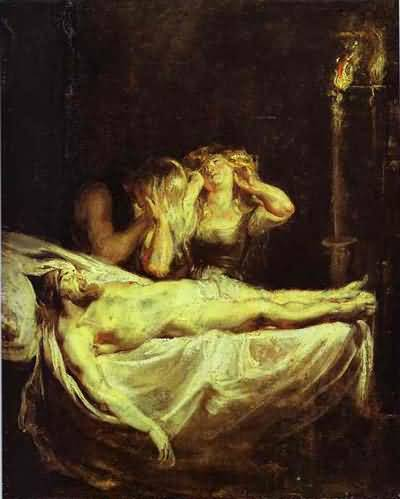 Peter Paul Rubens The Lamentation Oil Painting