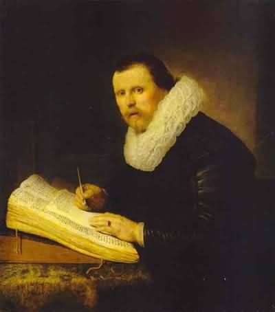 Rembrandt van Rijn A Scholar Oil Painting