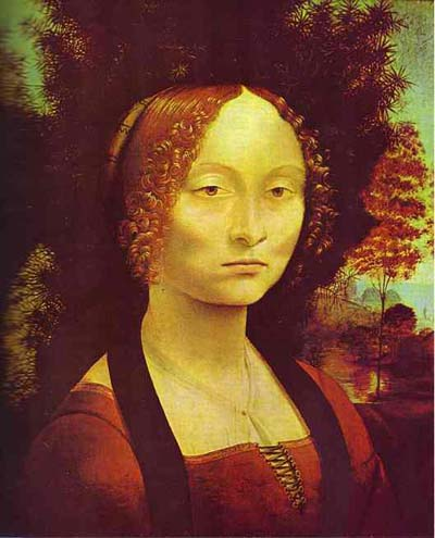 Leonardo da Vinci Portrait of Ginevra Benci Oil Painting