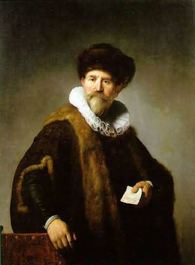 Rembrandt van Rijn Portrait of Nicolaes Ruts Oil Painting