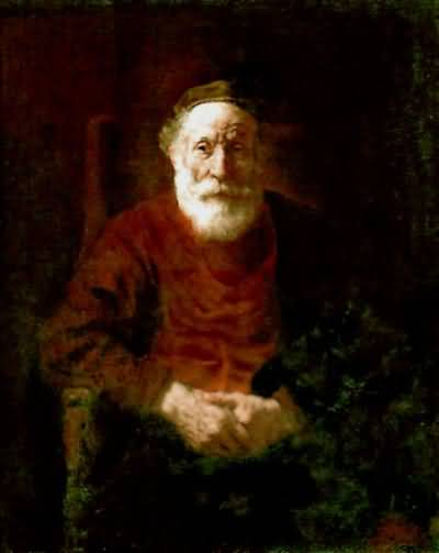 Rembrandt van Rijn Portrait of an Old Jewish Man Oil Painting
