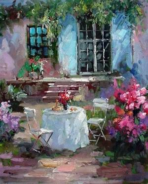 A courtyard idyll