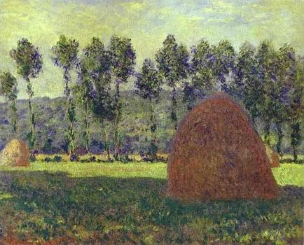 Haystack at Giverny. 1884 1889