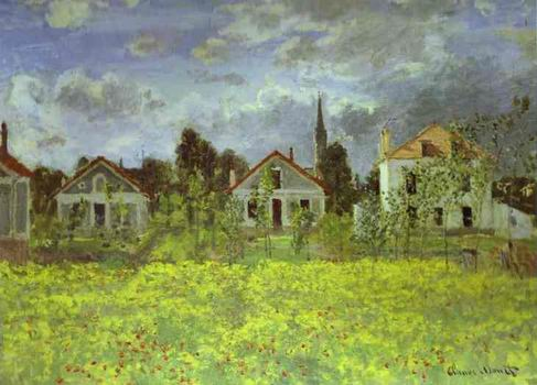 Houses at Argenteuil. 1891