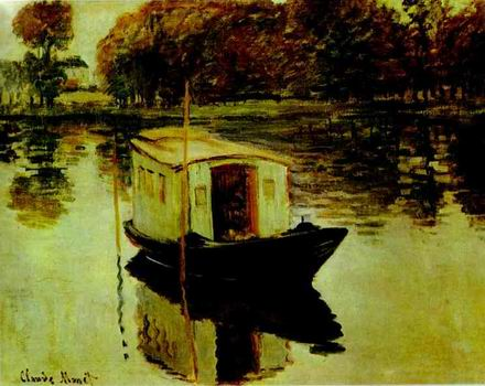 The Studio Boat. 1874