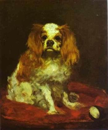 A King Charles Spaniel. c.1866