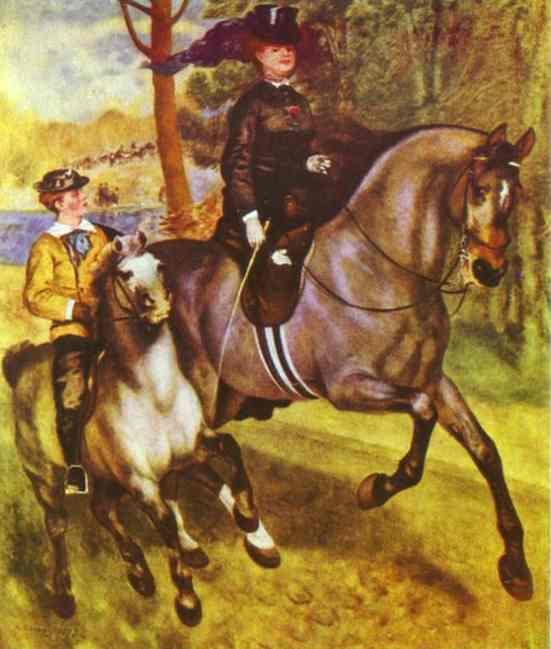 A Morning Ride in the Bois de Boulogne. 1873