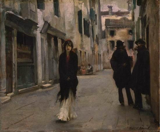 A Street in Venice, 1882