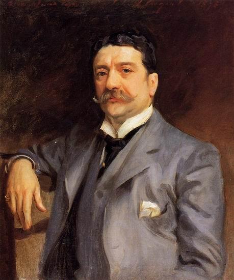 Alma Tadema Portrait of Louis Alexander Fagan