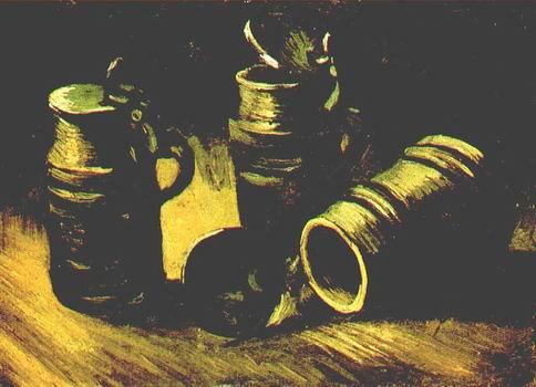 Beer Tankards,Nuenen: September mid October, 1885