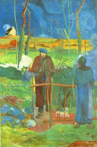 Bonjour, Monsieur Gauguin.1889