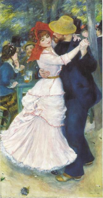 Dance at Bougival, 1883, (Suzanne Valadon and Paul Lhote)
