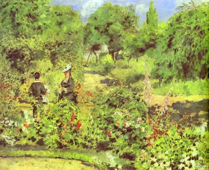 DolPR095Garden at Fontenay. 1874.