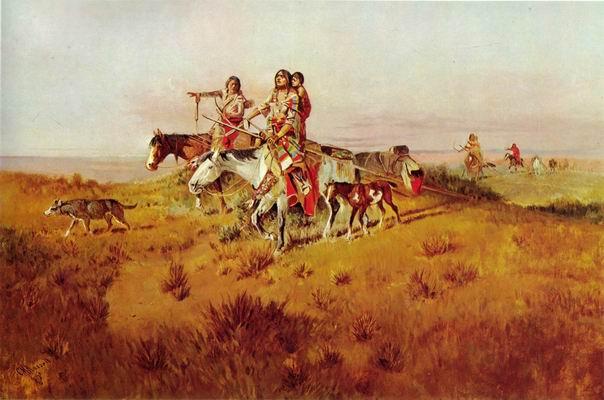 Following the Buffalo Run 1894