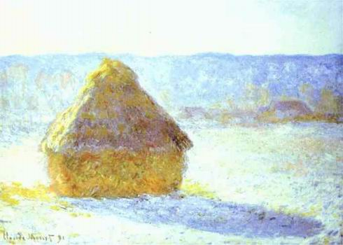 Haystack, Snow Effects, Morning. 1890