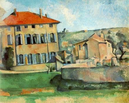 House and Farm at Jas de Bouffan (Maison et ferme du Jas de Bouffan)