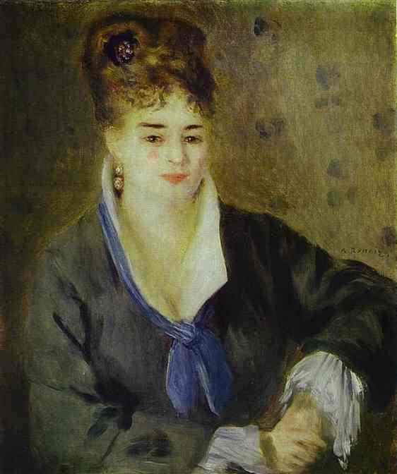 Lady in Black. 1876