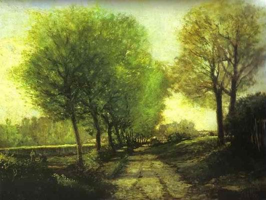 Lane near a Small Town. 1864 65
