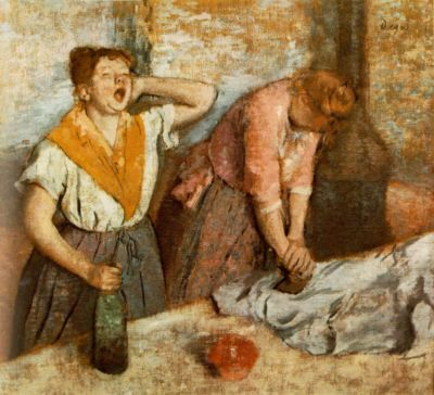 Les repasseuses (Women Ironing)