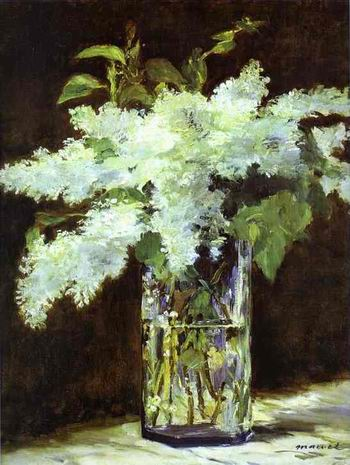 Lilac in a Glass. c. 1882